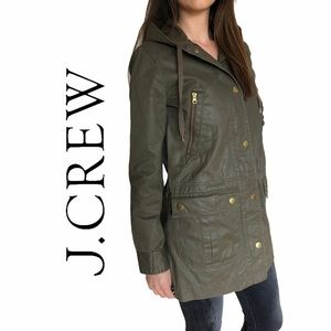 J. Crew- Sterling Military Green Jacket